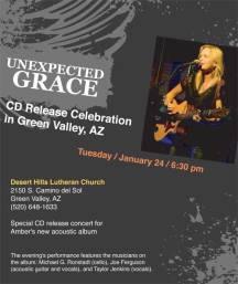 2012 CD Release Celebration flyer for Facebook