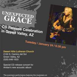 2012 CD Release Celebration flyer for Facebook