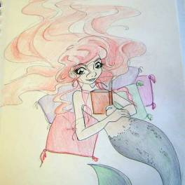 mermaid_reading