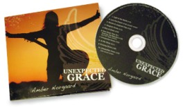 Final CD design for 2012 release of Unexpected Grace