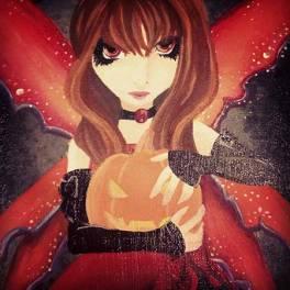 The Pumpkin Queen 2013 - 8x10 artboard
