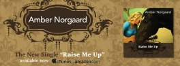 """Facebook banner for """"Raise Me Up"""" single release"""