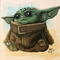 Baby Yoda 2019